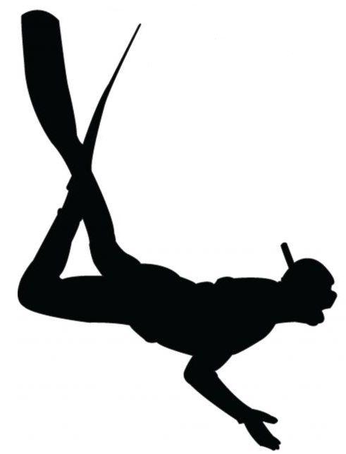 scuba diver silhouette - Google Search