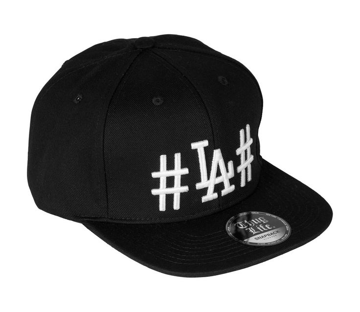 Thug Life LA Cap Snapback Basecap Mütze Hashtag ORIGINAL