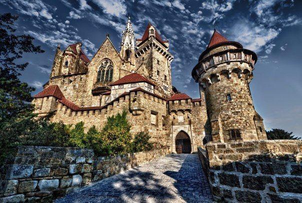 Замок Кройценштайн, Вена, Австрия
