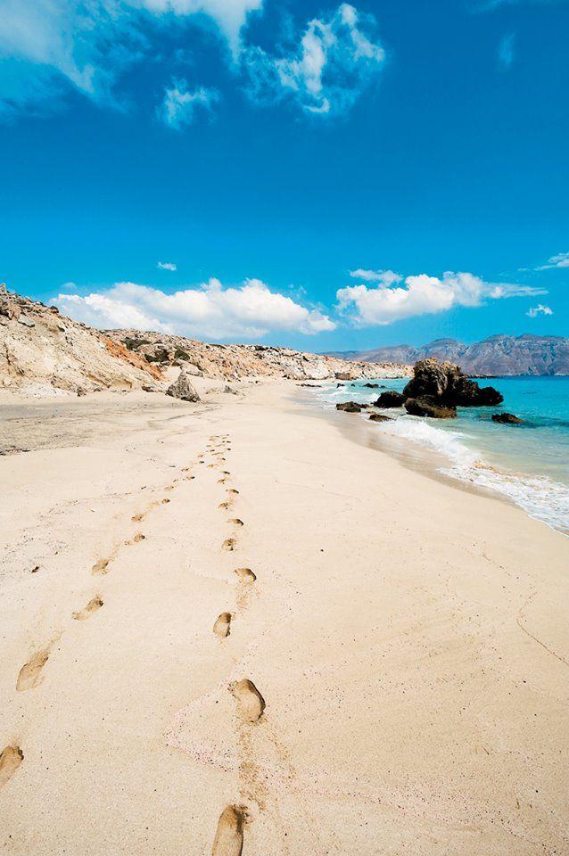 Marmara beach, Kassos, Greece