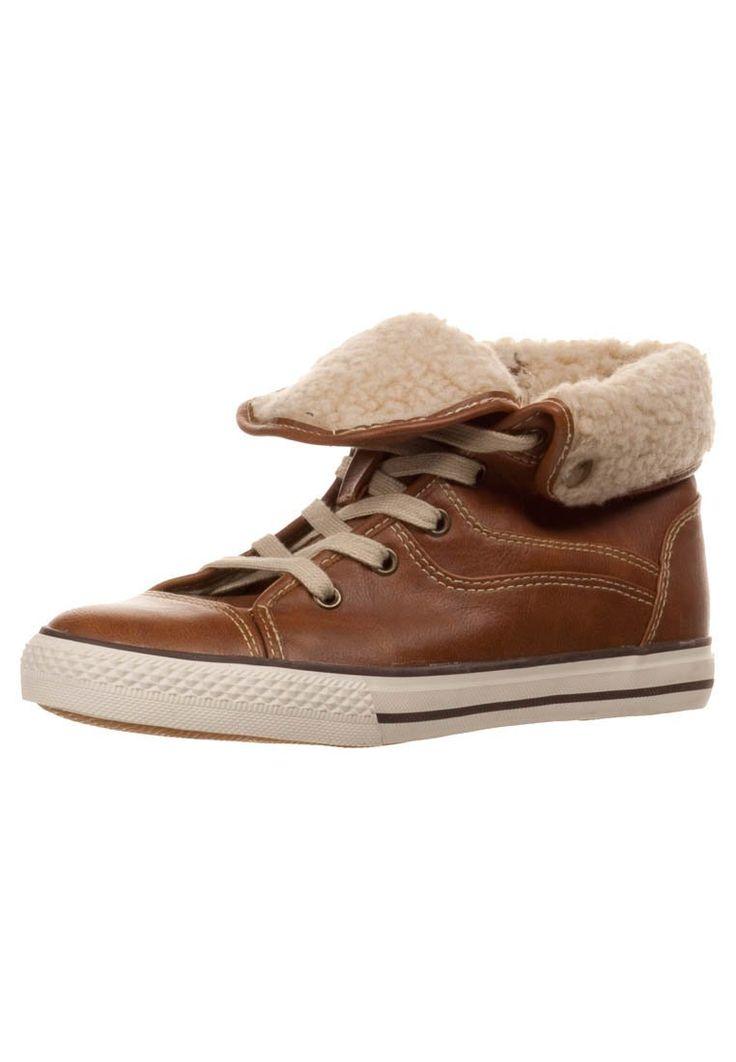 Anna Field - Sneaker high - cognac