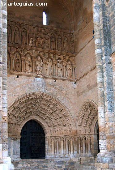 St. James' Way. Santa Maria la Blanca, Villalcazar de Sirga, Palencia