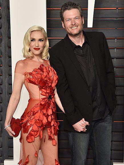 Aww! Blake Shelton Says He Likes Gwen Stefani ' a Lot' Ahead of the Kids' Choice Awards