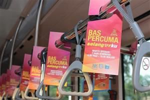 Complimentary bus rides in Shah Alam, Subang Jaya and Klang:Good news to students, senior citizens and lower income groups in Selangor! �Bas Percuma Selangorku�, a free bus service was launched today