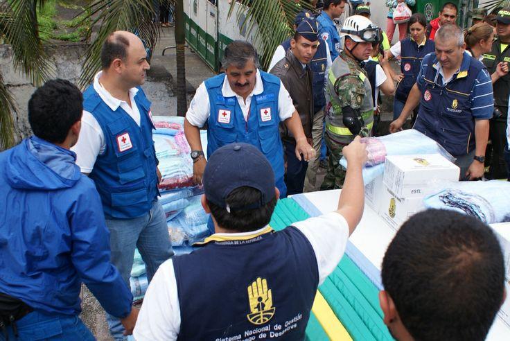 Entrega de Ayudas Humanitarias