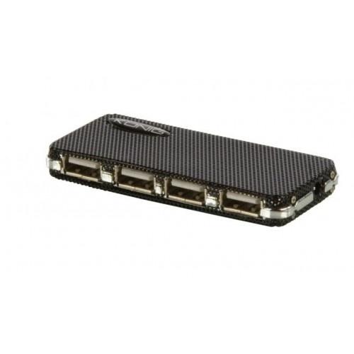 USB Hubs - Sluit meerdere usb apparaten aan op je pc of laptop met deze usb hub van het merk König.