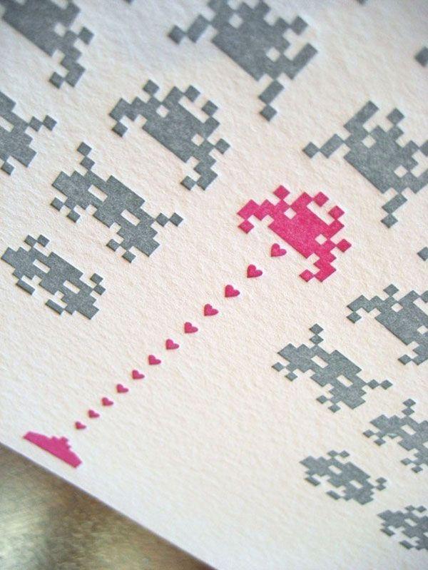 Space Invader Valentine