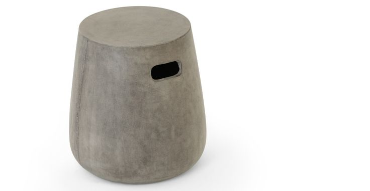 Edson stool, cement | made.com