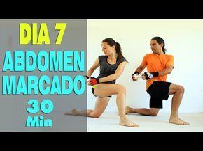 ABDOMEN PLANO con CARDIO en 30 min | Día 7 reto TONIFICATE | MalovaElena - YouTube