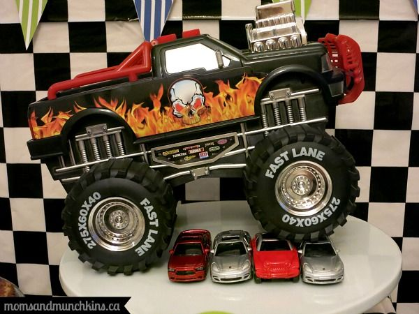 Monster Truck Birthday Party Ideas - Moms & Munchkins