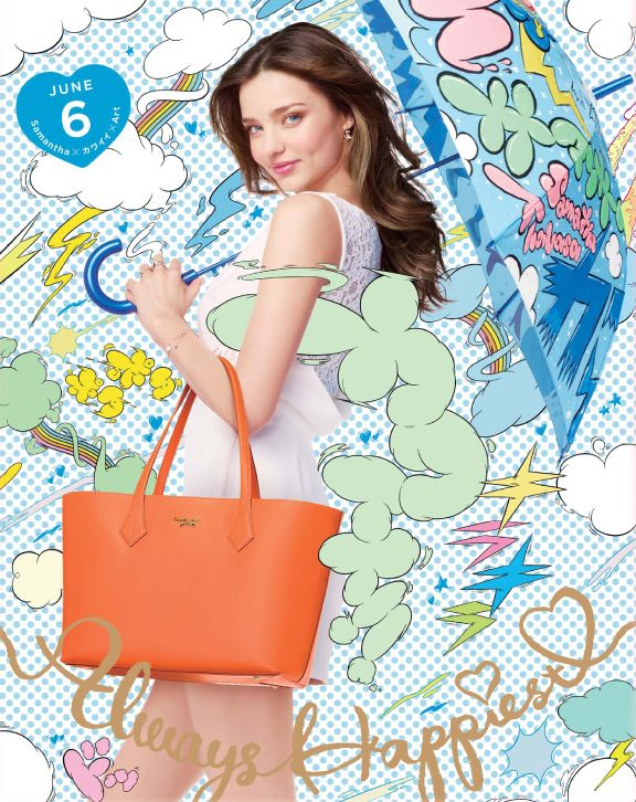 """This is the commercial ad of Samantha Thavasa (サマンサタバサ). this commercial was released in June 2013 in japan under the titled of """"Samantha x カワイイ(Kawaii) x Art""""."""