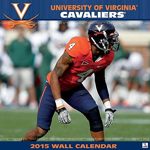 Turner Perfect Timing 2015 Virginia Cavaliers Team Wall Calendar, 12 x 12 Inches (8011612)