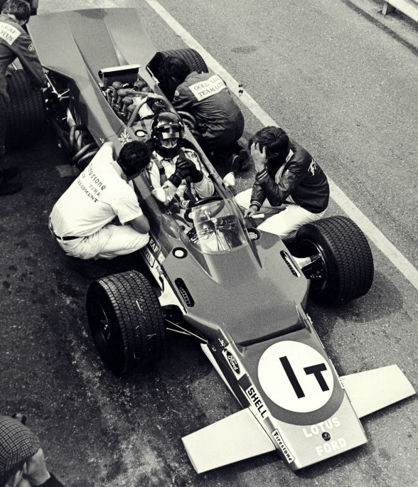 Graham Hill, Lotus 1969