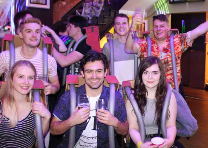 Students dress as Alton Towers crash victims in distasteful Halloween costume