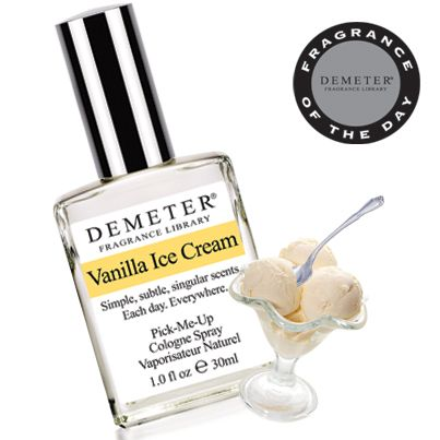 The SCOOP! On this day in 1904, the ice cream cone made its debut. Today's Fragrance of the Day is Vanilla Ice Cream, a classic scoop for the classic cone. As the #FOTD, it's also 50% off today only, April 30, 2014, with code 6444467.