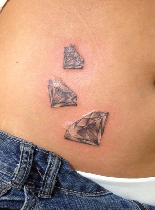 109 Best Images About Diamond Tattoos On Pinterest