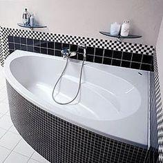 baignoire d'angle classique
