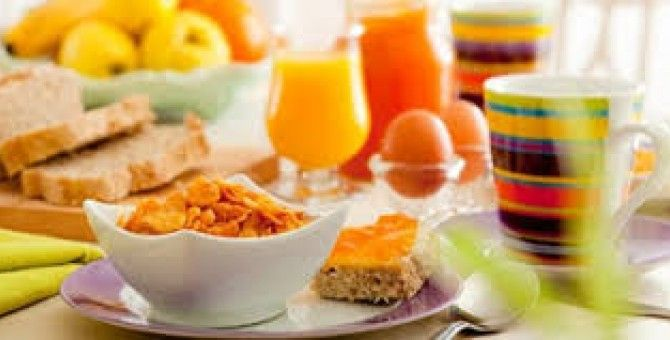 A Healthy Morning Breakfast