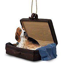 Basset Hound Traveling Companion Dog Ornament