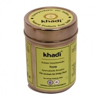 Masca cu neem - toate tipurile de ten, 50g, Khadi  - Sabedoria