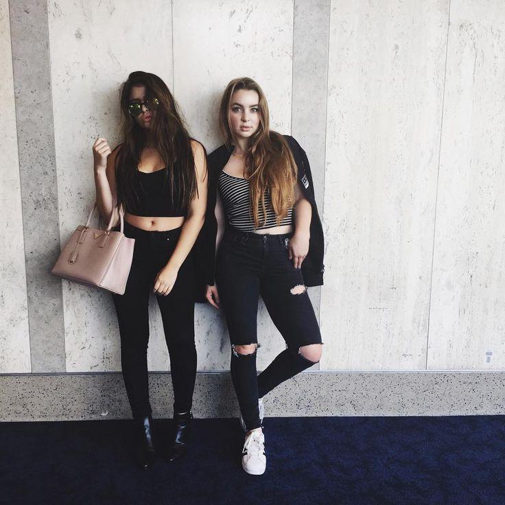 Alexa Losey & Lauren Giraldo • @alexalosey Instagram LA