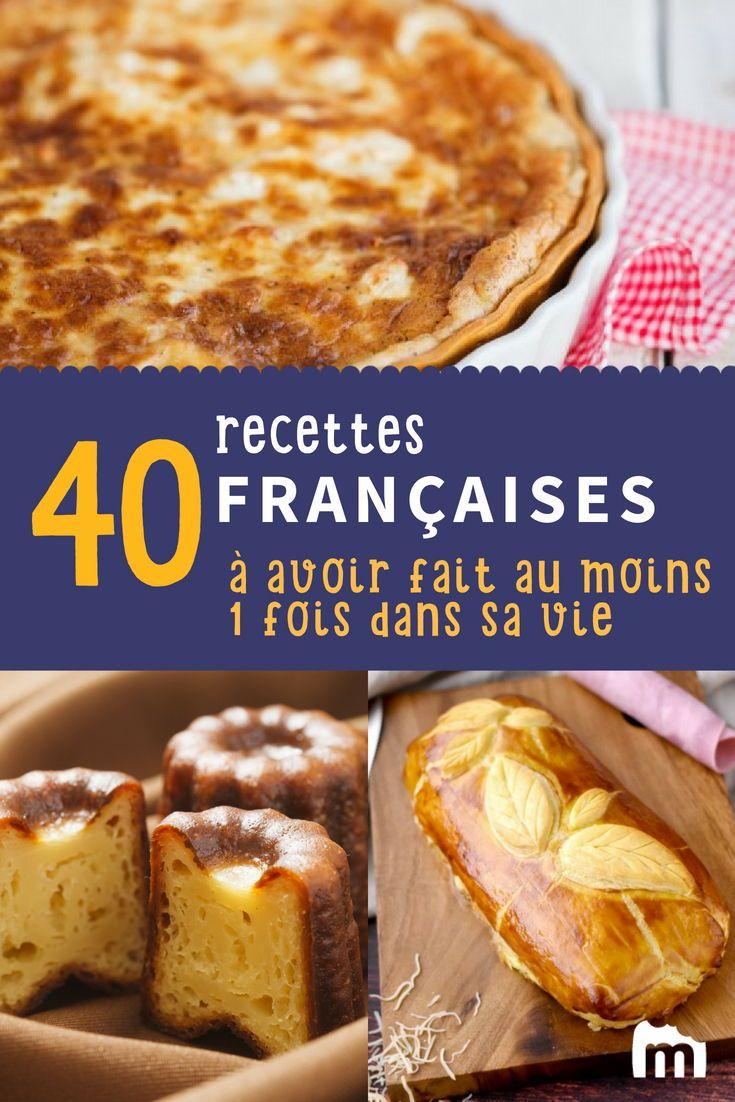 Le Top 40 Des Meilleures Recettes Francaises Desserts Faciles