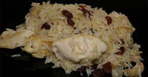 Esta receta de arroz exótico está llena de matices y aromas.