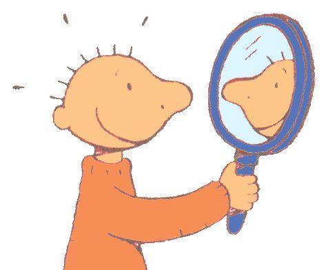 Jules in de spiegel