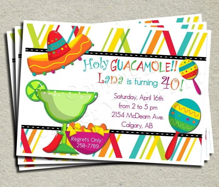"45 best ""fiesta invites"" images on pinterest 