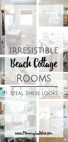 Irresistible Beach Cottage Rooms