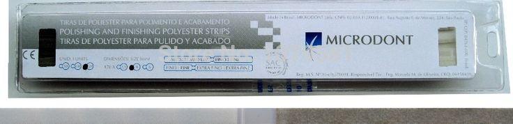 BRASIL MICRODONT PACK/100PCS 6.0mm  Abrasive Polyester Strip for Polishing /Finishing FOR POLISHING COMPOSITE OR RESIN IN DENTAL #Affiliate
