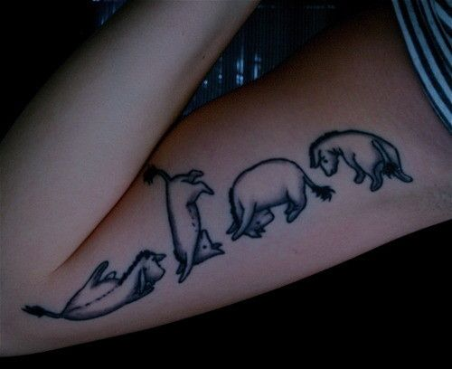 100 Magical Disney Tattoos photo We've Got You Covered's photos - Buzznet Love the retro style :)