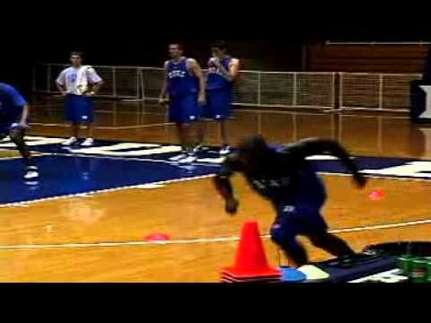 Mike Krzyzewski: Duke Basketball - Agility & Conditioning Drills for Defense - YouTube
