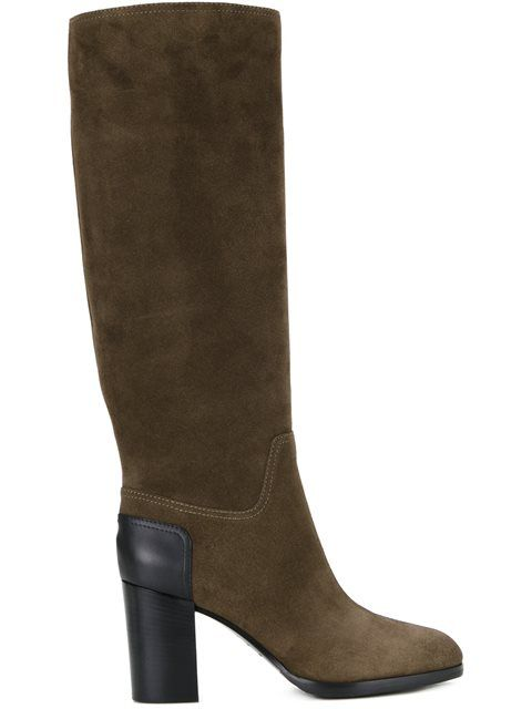 SERGIO ROSSI knee-high boots. #sergiorossi #shoes #boots
