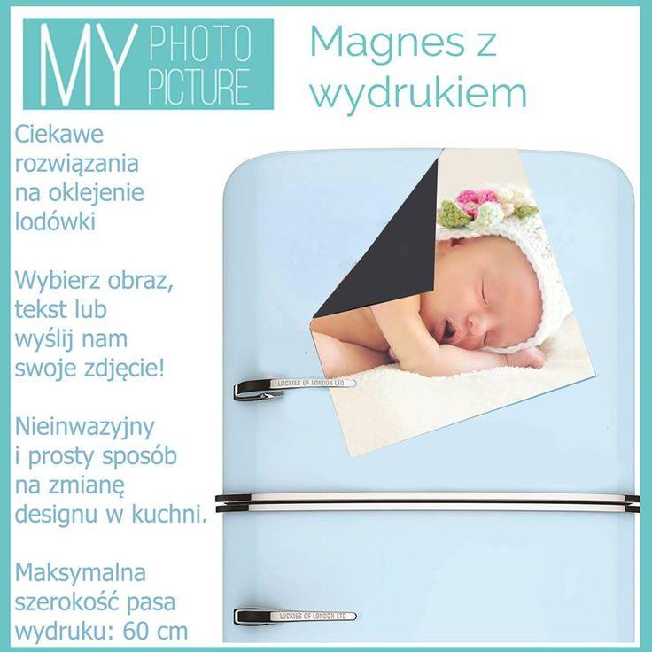 ]Za pomocą #magnesu z #wydrukiem możesz wybrać dowolną #ilustrację i #udekorować nią #lodówkę ! Wiele osób umieszcza w tym miejscu #fotografię swojej pociechy :)