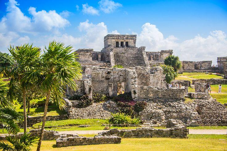 Mexico ruins.