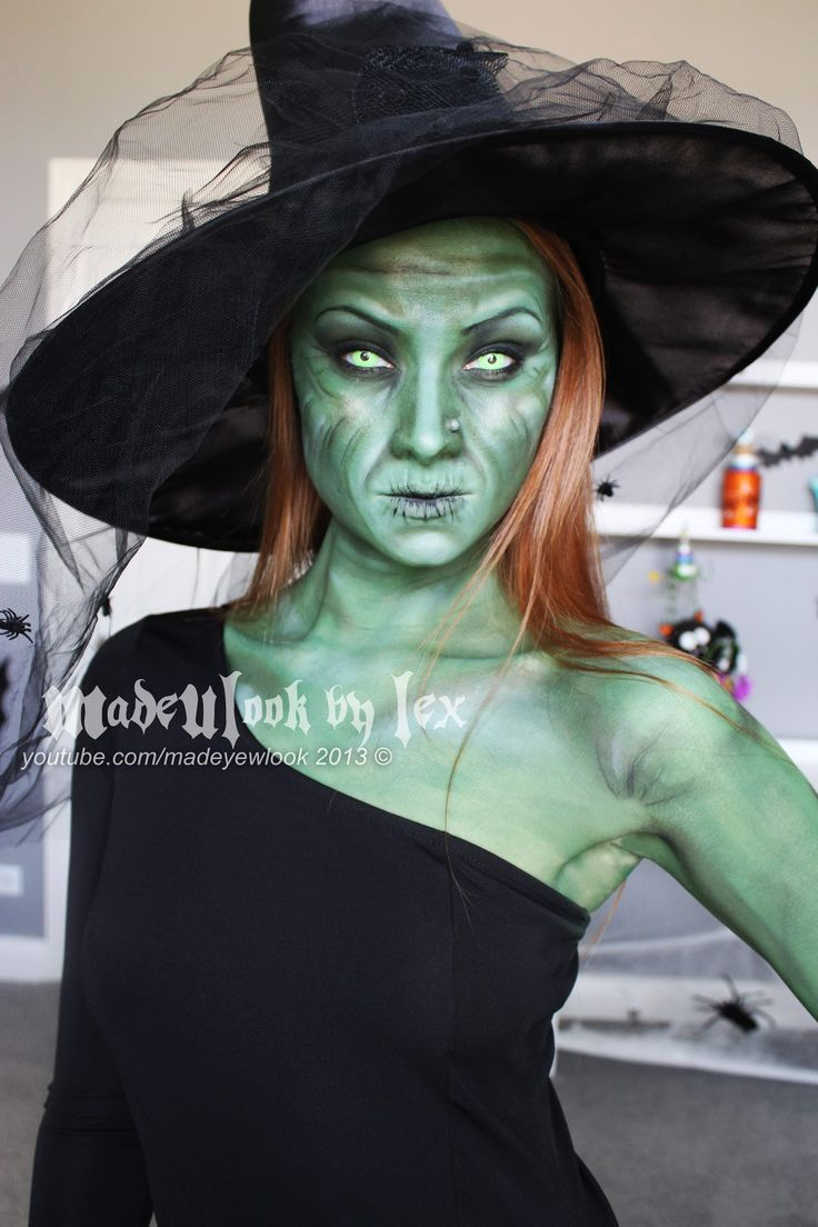 59 best Face Painting Halloween Witch images on Pinterest ...