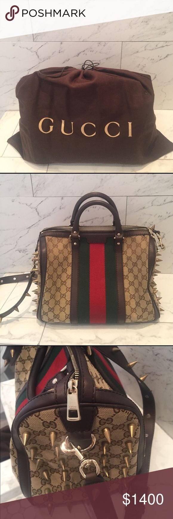 gucci vintage web boston bag customized vintage web gg boston bag beigeebony