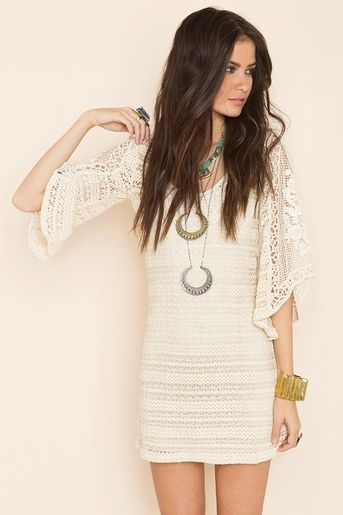 i'd probably wear this with leggings or skinny jeans - i love it but its just a bit short!!!