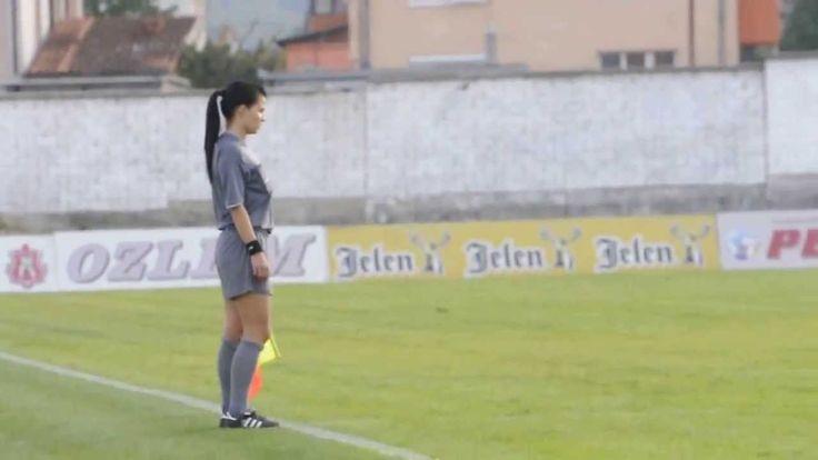 Het voetbal heeft vrouwelijke scheidsrechters nodig #ILoveYou
