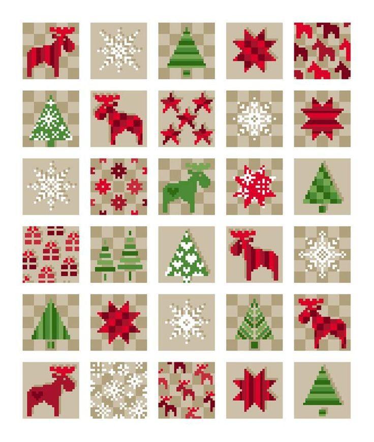 Unisono Stickvorlagen - Winter/Weihnachten                              …                                                                                                                                                                                 Mehr