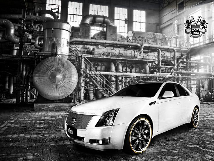 Cadillac CTS with Vogue VT372 Wheels | Cadillac Pimpin ...