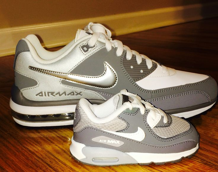 Father And Son Matching Nike Airmax Shoes Growing