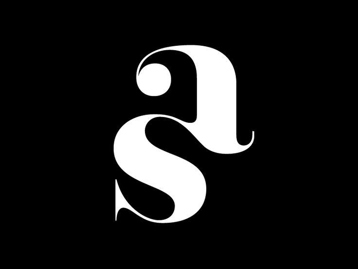 13 Best Monogramm As Sa Images On Pinterest Logo