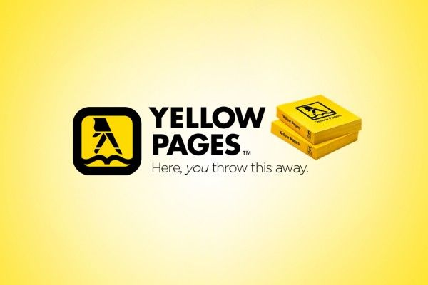 The Genius Truth Behind The Brand - YELLOW PAGES #creativity #fun