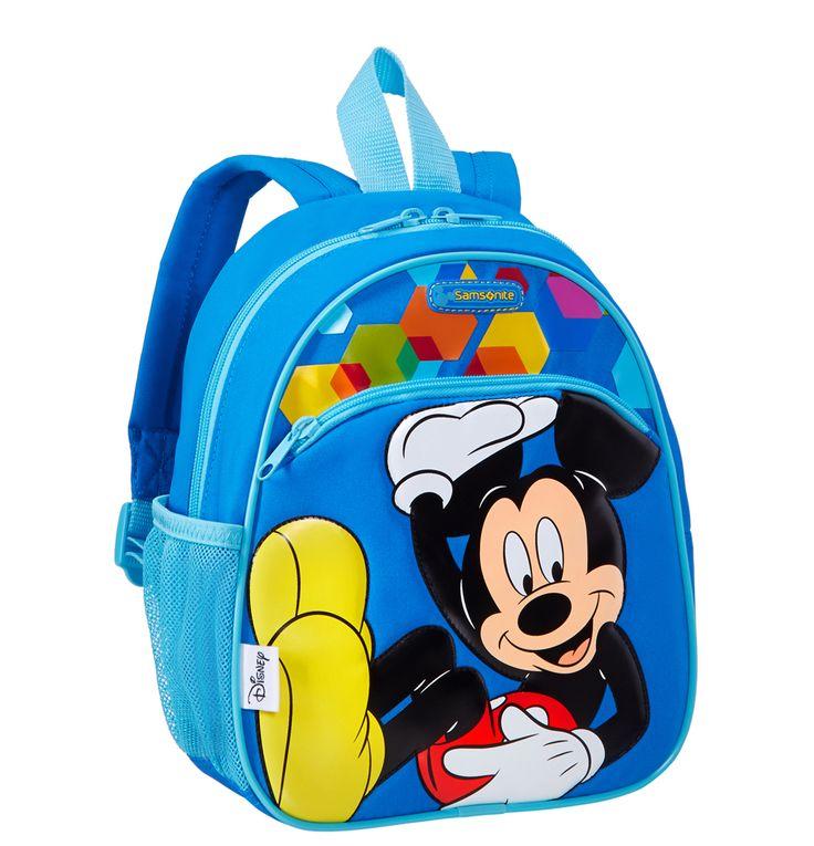 Seje Samsonite Disney rygsæk S, Mickey Mouse Samsonite  til Rygsække i luksus kvalitet