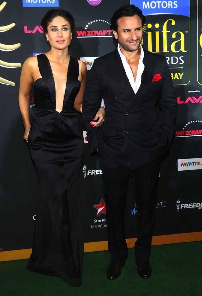Kareena Kapoor Khan and Saif Ali Khan at IIFA 2014