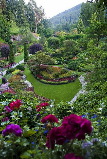 Sunken Garden Butchart Gardens Victoria British Columbia Canada Been There Done That