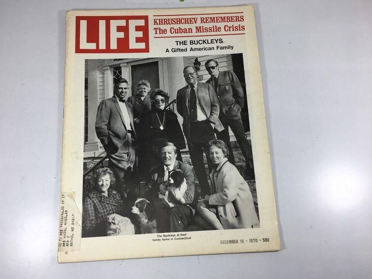 1970 Life Magazine Back Issue Cuban Missle Crisis Mohamad Ali