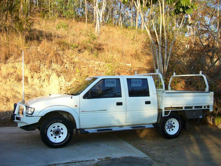2002 Holden Rodeo 3L TD